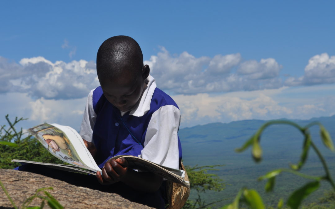 Book Aid International use 'Where the wild things are' in Africa