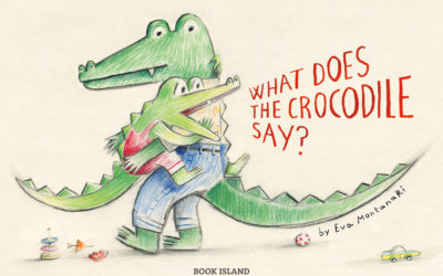What does the crocodile say?