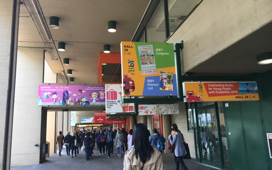 A Report from the IBBY Executive at Bologna Children's Book Fair