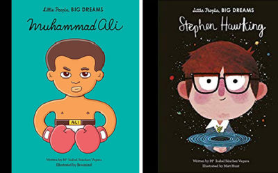 Little People, BIG DREAMS (Muhammad Ali, Stephen Hawking)