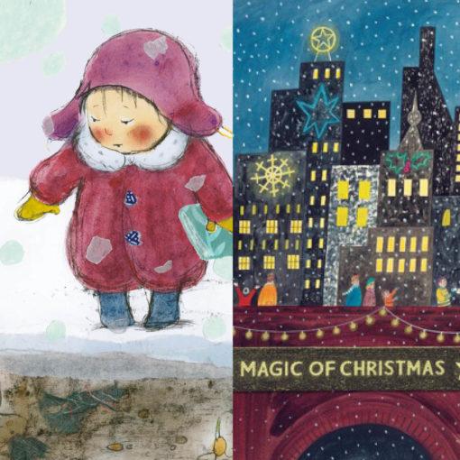 Christmas Cards_Carol and Emma