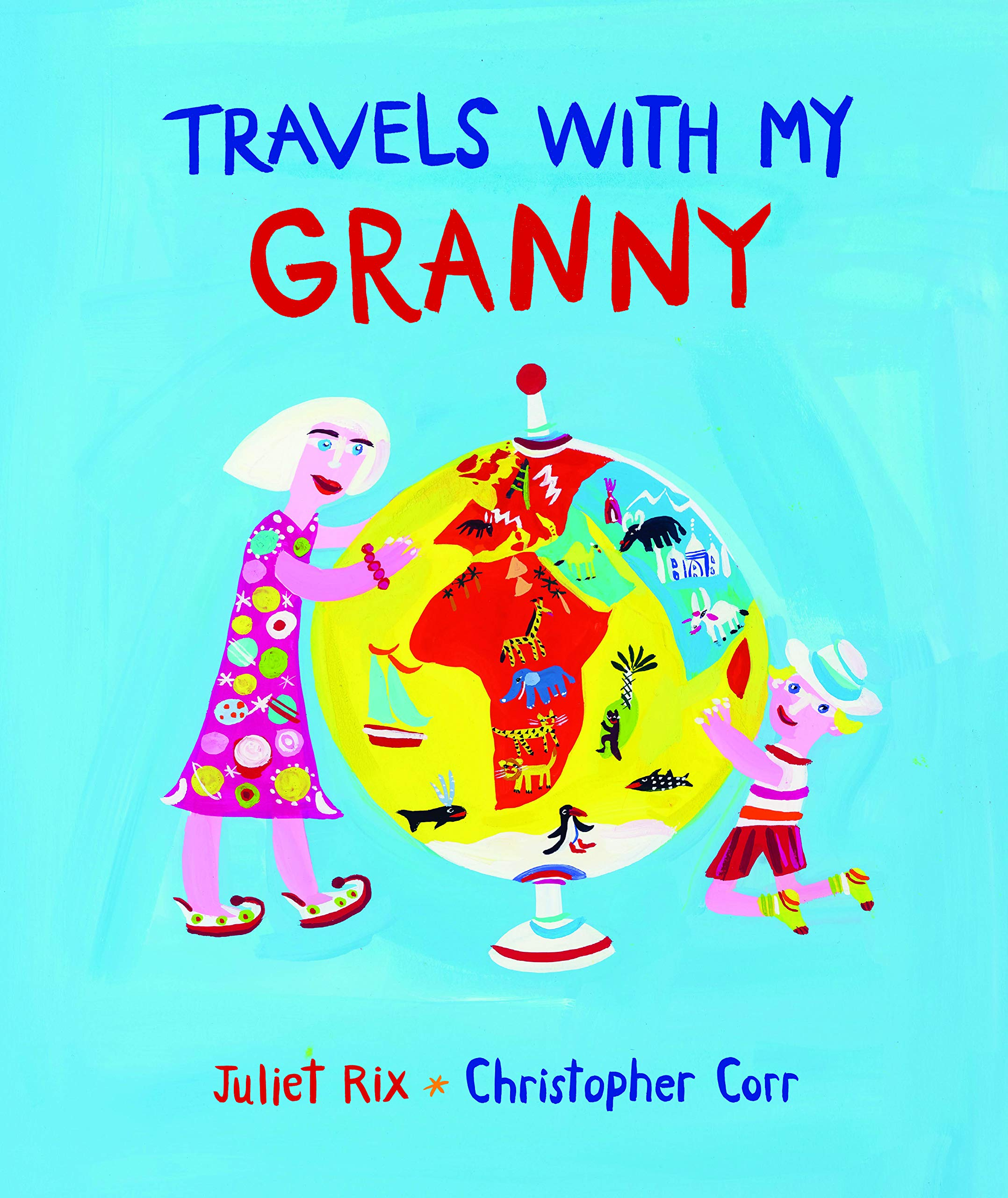 Travels with my granny - Cover