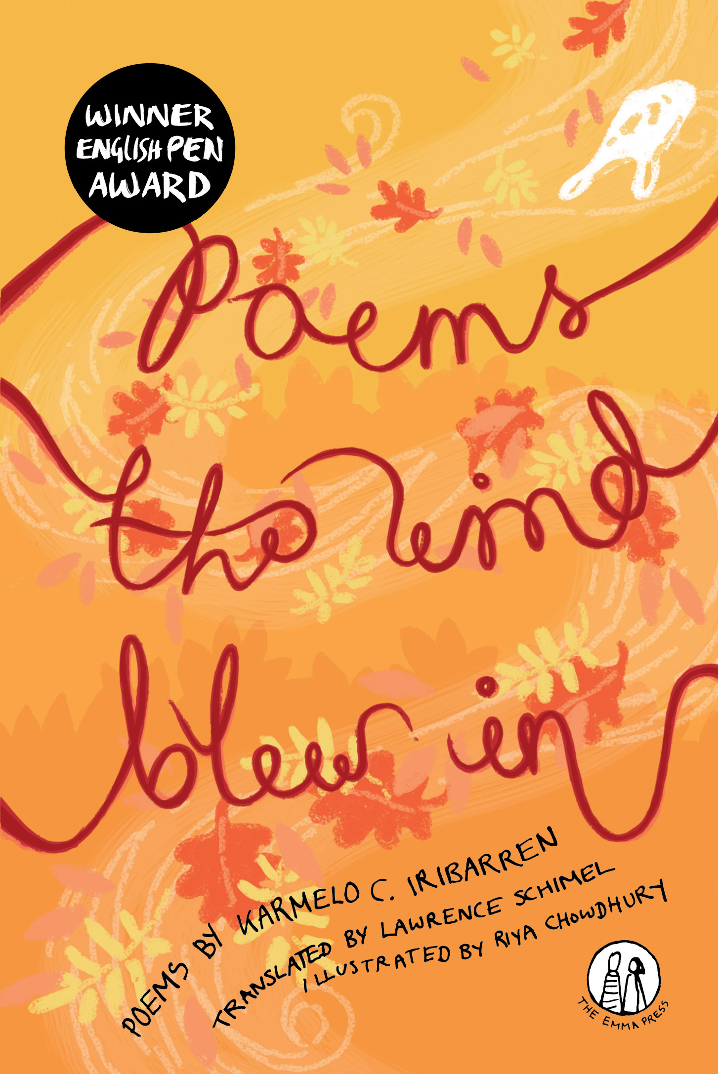 Poems the Wind Blew in - Cover