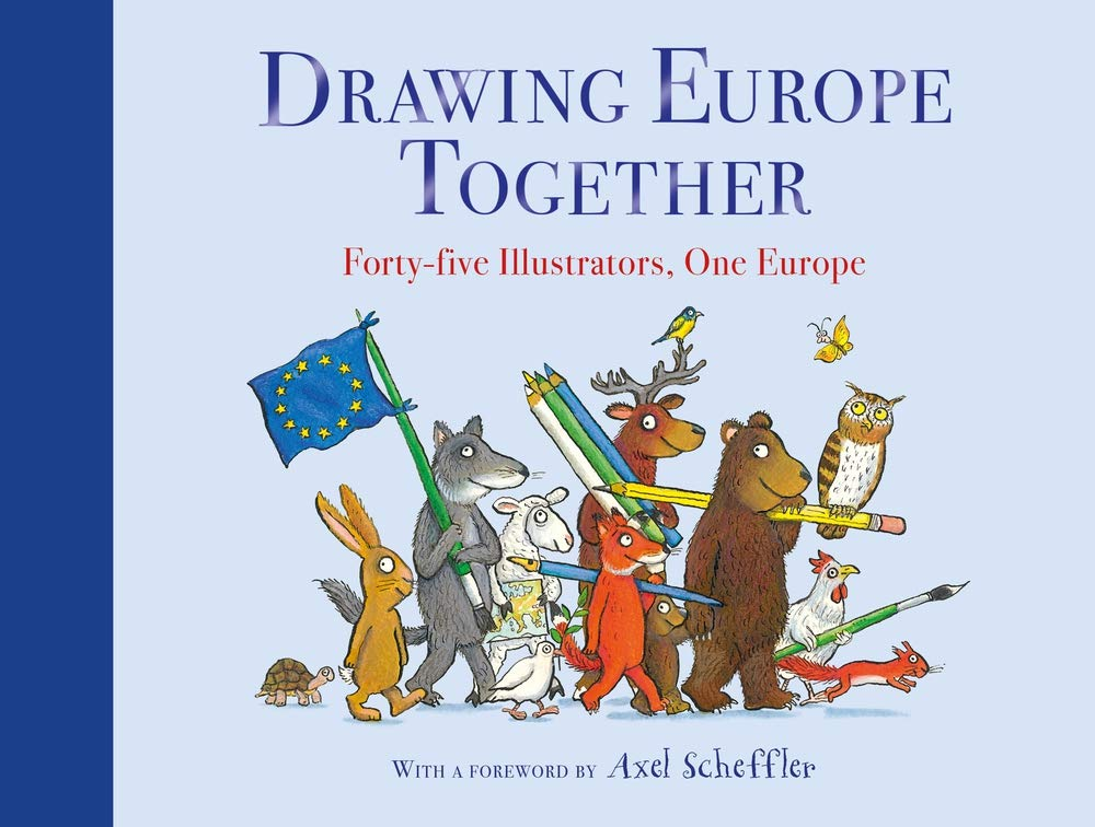Drawing Europe together - Cover