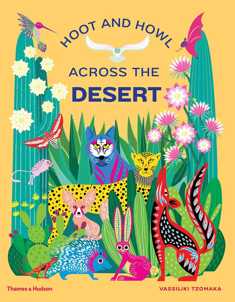 Hoot and howl across the desert (cover)
