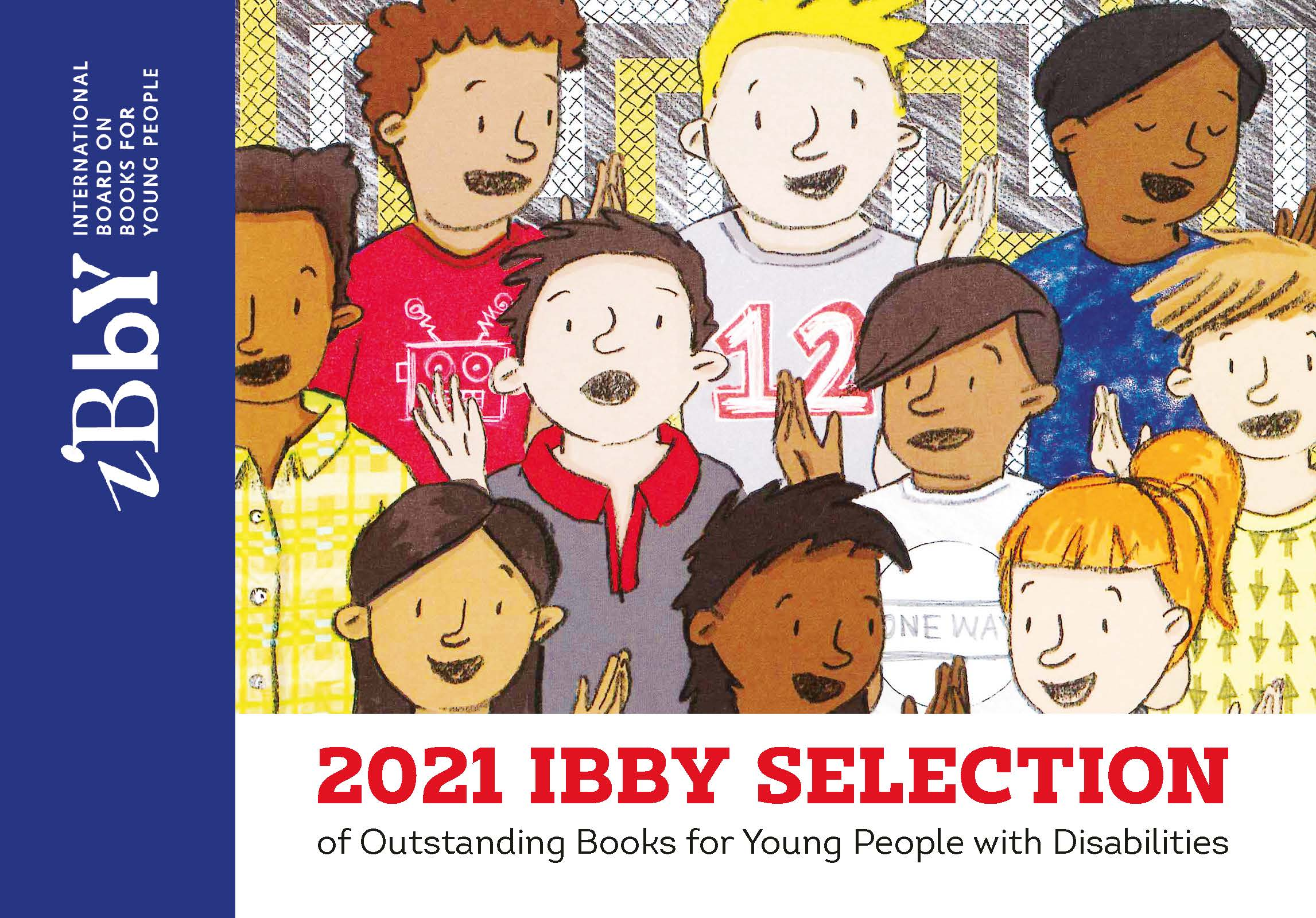 Image of artists on stage for Ibby Honour List
